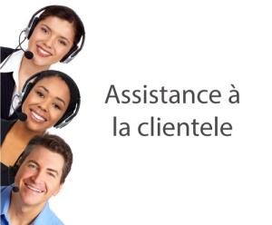 Assistence à la clientele